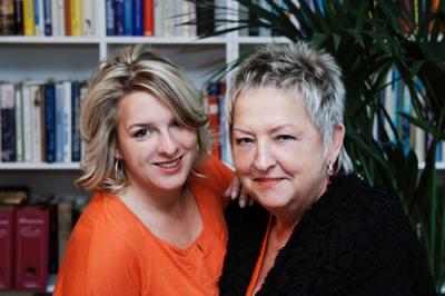 Rosi Dotten und Mona Blust